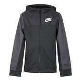 Nike Boys Hoodie 大童裝 灰 外套 連帽外套 運動 休閒 棉質 Advance 溫暖 兒童外套 AJ0117071