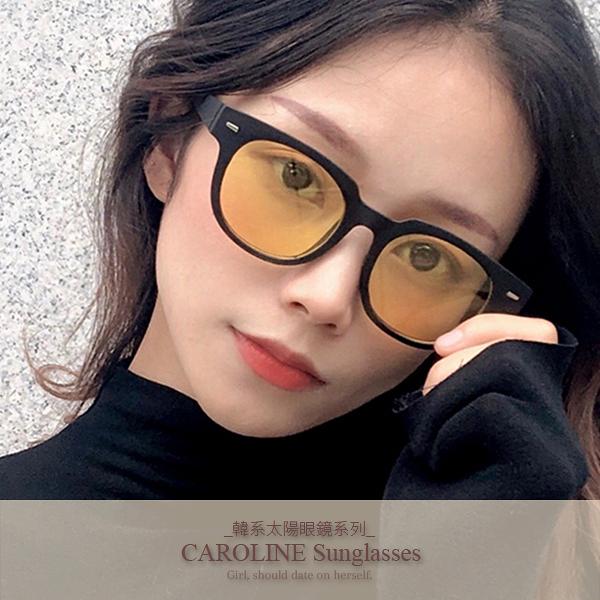 《Caroline》年度最新網紅款潮流百搭抗UV時尚太陽眼鏡 72190