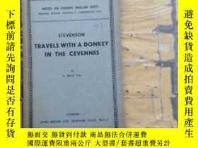 二手書博民逛書店TRAVELS罕見WITH A DONKEY IN THE CE