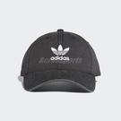 adidas 帽子 Adicolor Washed Cap 可調整 老帽 棒球帽 男女款 穿搭必備 黑色【ACS】 DV0207