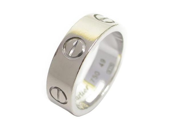 Cartier LOVE RING #49 DH 4646 【BRAND OFF】