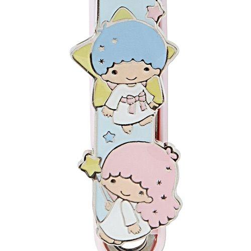 【震撼精品百貨】Little Twin Stars KiKi&LaLa 雙子星小天使~Sanrio KAI貝印日本製指甲剪(星星)#67619