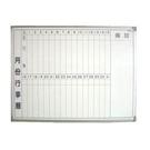 《享亮商城》1.5x2尺 磁性月份行事曆白板(45*60cm)  0840