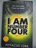 【書寶二手書T9/原文小說_OPK】I Am Number Four : (Lorien Legacies Book 1