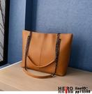 托特包側背大包包女韓版鏈條斜挎包大容量時尚手提包夜市包包品牌【邦邦】