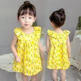 連身裙春夏女童背心裙1夏季2韓版3兒童裙子4公主裙