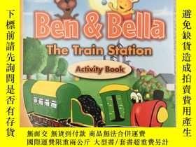 二手書博民逛書店Ben&Bella罕見The Train Station Act