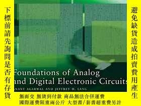 二手書博民逛書店Foundations罕見Of Analog And Digital Electronic Circuits (t