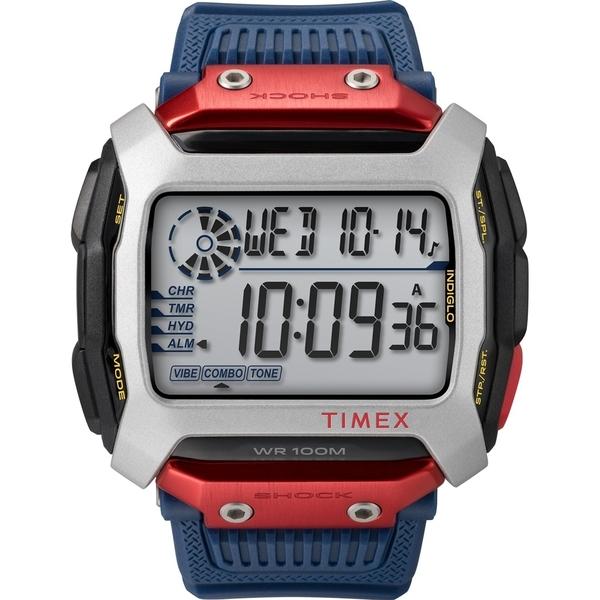 【TIMEX】 天美時 X Red Bull 聯名 遠征系列限量電子錶 (紅/藍/黑 TXTW5M20800)