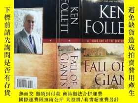 二手書博民逛書店《罕見Fall of Giants》大國的衰亡 巨人的隕落 (世