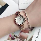 潮流鏈條錶帶女士腕錶 氣質百搭時裝錶飾品女學生手錶《小師妹》yw169