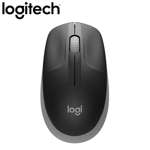 Logitech 羅技 M190 無線滑鼠 灰