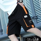 夏季短褲男潮流工裝褲大碼學生休閒五分褲運動寬鬆褲子潮牌男【全館免運】