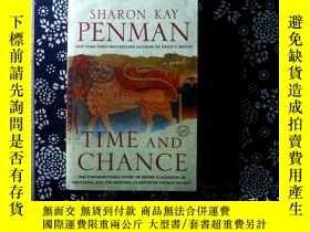 二手書博民逛書店英文原版Time罕見and Chance 時間和機會Y18701