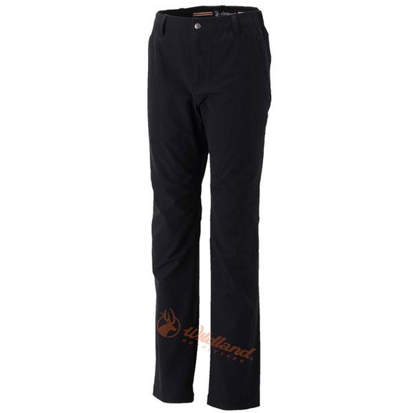 Wildland 荒野 0A32303-54黑色 女 彈性保暖休閒長褲