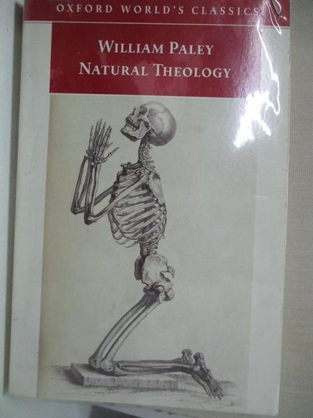 【書寶二手書T1/宗教_DAB】Natural Theology-Evidence of the Existence..._Paley
