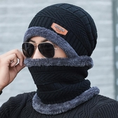 帽子男冬天針織毛線帽加絨加厚韓版潮保暖防寒騎車秋冬季男士棉帽  魔法鞋櫃