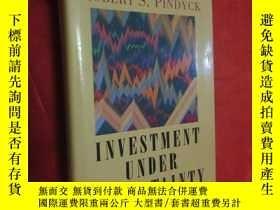 二手書博民逛書店Investment罕見Under Uncertainty (小16開,硬精裝 ) 【詳見圖】Y5460 Av