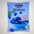 [COSCO代購] WC722573 Kirkland Signature 科克蘭 冷凍藍莓 2.27公斤 兩入