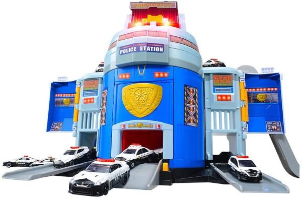 TOMICA 緊急出動! 巨無霸警察基地 不含小車 TOYeGO 玩具e哥