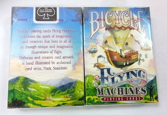 【USPCC撲克館】Bicycle flying machine blue Playing Cards