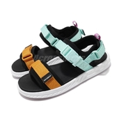 New Balance 涼拖鞋 SDL 600 藍 黃 男鞋 女鞋 情侶鞋 涼鞋 【PUMP306】 SDL600CYD