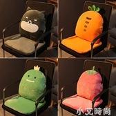 坐墊辦公室久坐靠墊一體學生椅子座椅墊護腰靠背屁股墊板凳可拆洗 NMS小艾新品