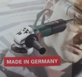 *雲端五金便利店* 免運費 德國 metabo 專業 強力 4 英吋 平面砂輪機 W9-100 正德國製