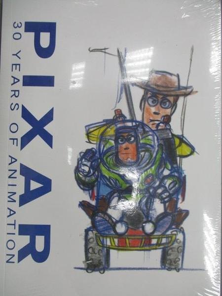 【書寶二手書T7/影視_YKK】PIXAR 30 Years of Animation