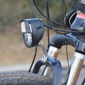 德規自行車燈車前燈摩擦燈花鼓發電燈