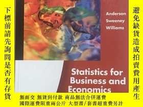 二手書博民逛書店(外文原版)Statistics罕見for Business a