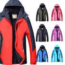 【情侶款】厚刷毛防風防水連帽機能外套/衝鋒衣-4色 2XL-4XL碼【C323223】