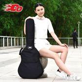 民謠吉他包牛津布加厚加棉個性木吉它包 雙肩防水琴包 zh3039 【宅男時代城】