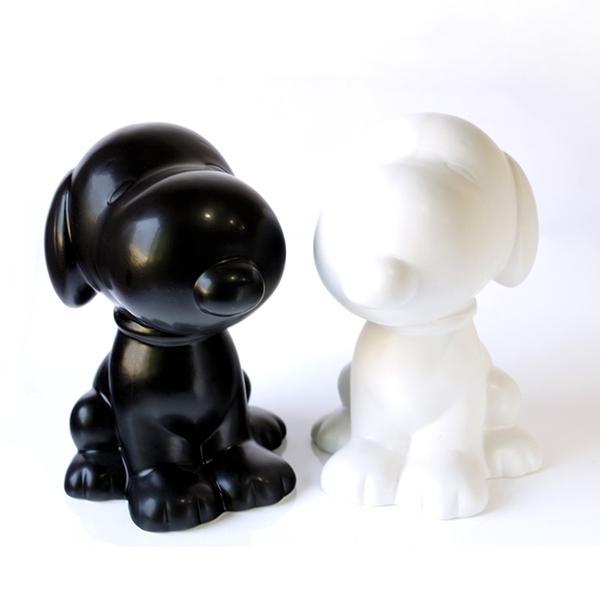 耀您館|日本MC.黑色史努比貯金筒大型黑色SNOOPY儲錢筒SPY-41系(陶製)史奴比存錢筒PEANUT存錢桶