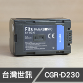 CGR-D230 台灣世訊 日製電芯 副廠鋰電池 P牌 國祭 (一年保固)