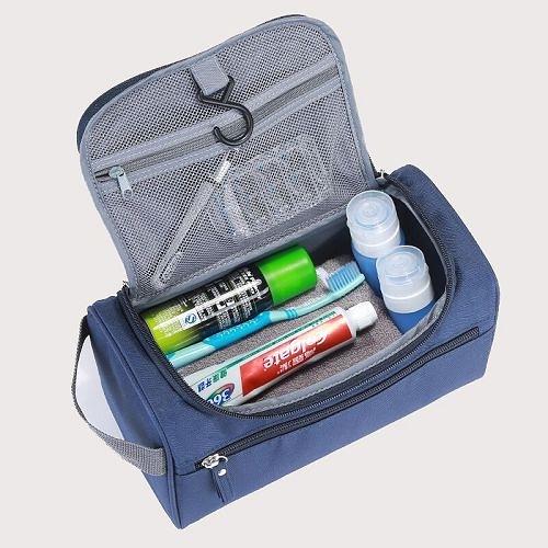 男士旅行洗漱收納包 便攜旅遊防水化妝包 出差洗漱袋