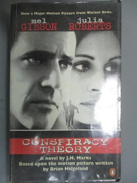 【書寶二手書T3/原文小說_HRG】Conspiracy Theory_J. H. Marks, Brian Helge