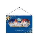 美國藍鑽杏仁 金典禮盒 新年限定 (蜂蜜鹽烤+煙燻+鹽烤) -70g/袋-波比元氣