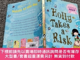 二手書博民逛書店Holly罕見Takes a Risk: Mermaid SOS 4 霍麗冒險Y22224 Gillian S