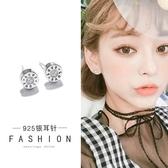 【免運到手價$98】個性迷你鑲鑽love字母耳釘女士氣質韓國簡約潮人耳環交換禮物