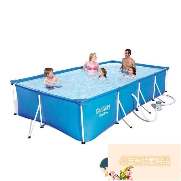 家庭小孩加厚大型戶外養魚池支架游泳池家用大人