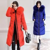 羽絨外套 冬裝韓版大碼羽絨棉服女胖MM200斤中長版寬鬆加肥加大顯瘦厚外套 最後一天85折