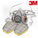 【醫碩科技】3M 6200 防毒口罩組合 搭3M-6003有機酸性蒸氣濾罐 有機/蒸氣/氯氣/鹽酸 6200*6003