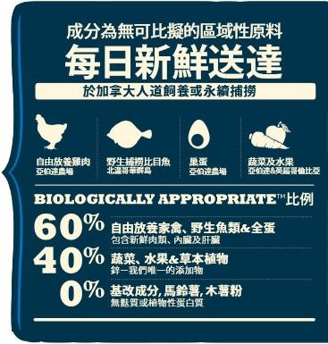 寵物家族-愛肯拿ACANA-潔牙成犬無穀配方(放養雞肉+新鮮蔬果)2kg