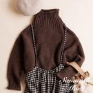❖ Winter ❖ 高領落肩剪裁針織上衣 (提醒➯SM2僅單一尺寸) - Sm2