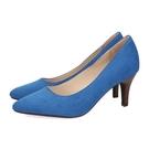 【ORiental TRaffic】舒適百搭尖楦高跟鞋-經典藍