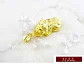 9999純金 黃金 心型 黃金貔貅 墜飾 情人禮物 生日 送精緻皮繩項鍊 【吉祥物系列】
