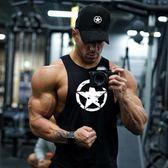 健身背心男寬鬆運動坎肩無袖T恤工字跨欄肌肉型訓練衣服棉潮【快速出貨】