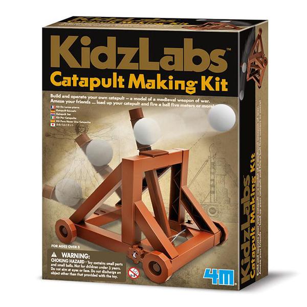 【4M】科學探索系列 - 攻城投石車 Catapult Making Kit 00-03385