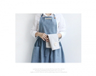 [Mamae] ~新品~出口韓國時尚廚房工作服  成人圍裙    餐廳 廚房 園藝   簡約時尚牛仔棉圍裙